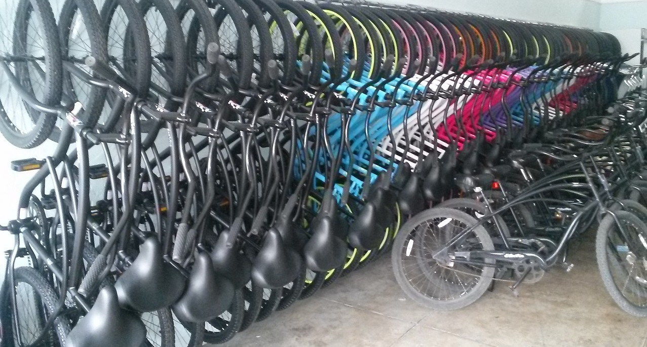 Muscle Beach Bicycle Rentals